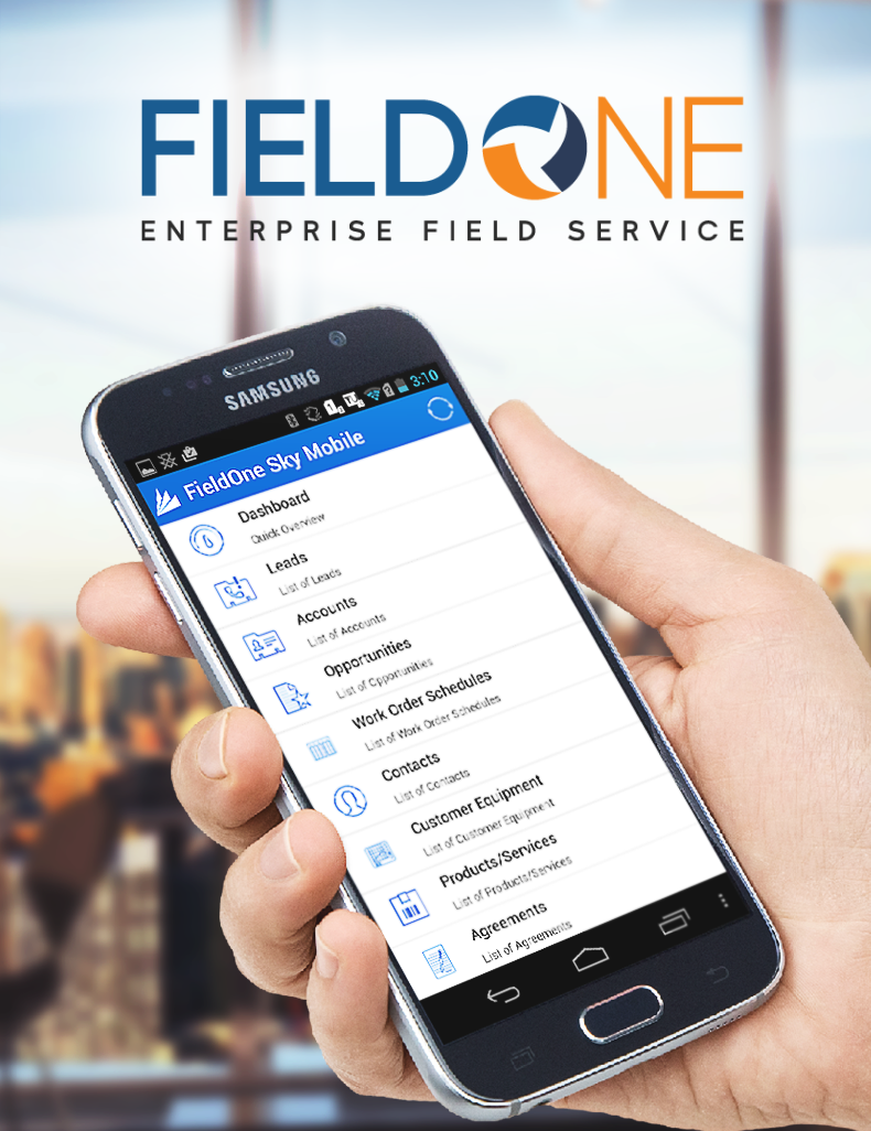 FieldOne Sky Android Application