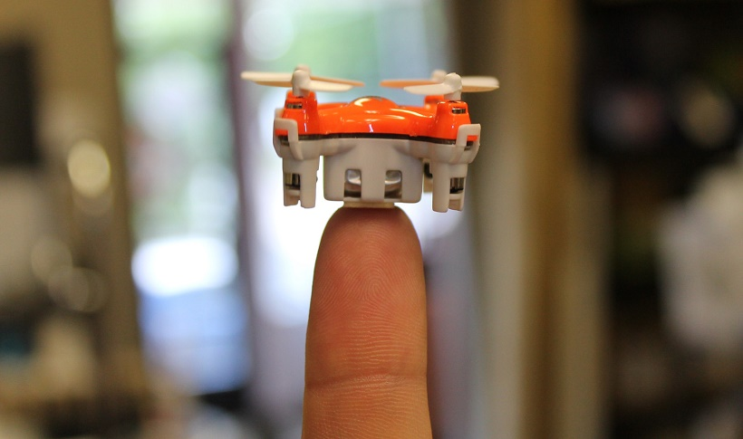 meet aerius the tiniest drone ever drone app development company