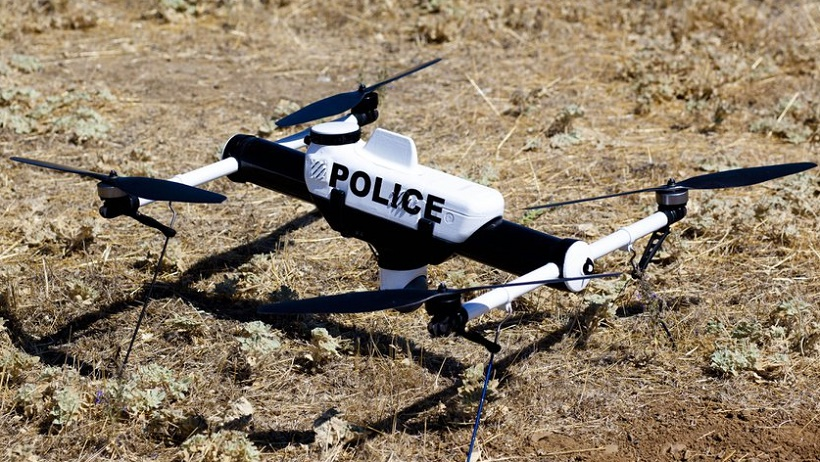 Drones On Service To Help The Police Fight Criminals