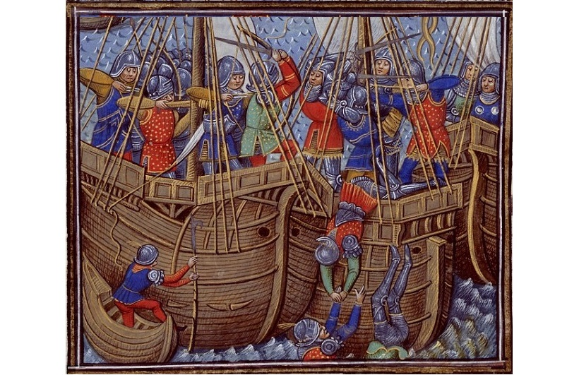 Drones Help Historians Spot Medieval Warships