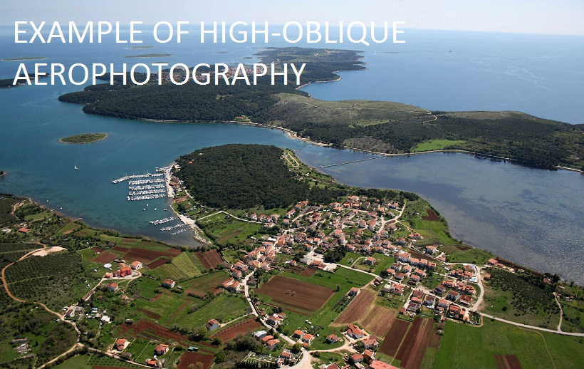 HIGH-OBLIQUE AEROPHOTOGRAPHY