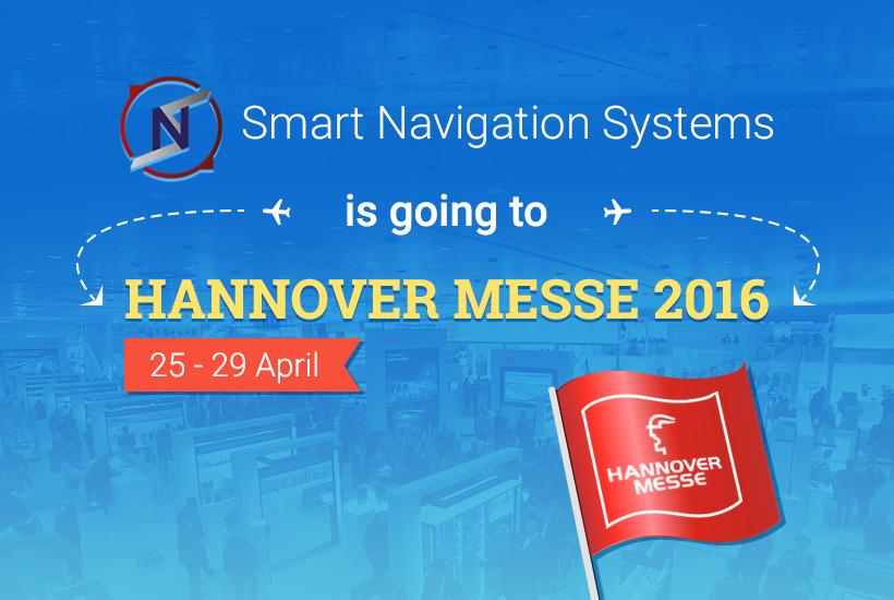 The Hannover Messe: SNS Startup Presents Their Indoor Positioning and Navigation System