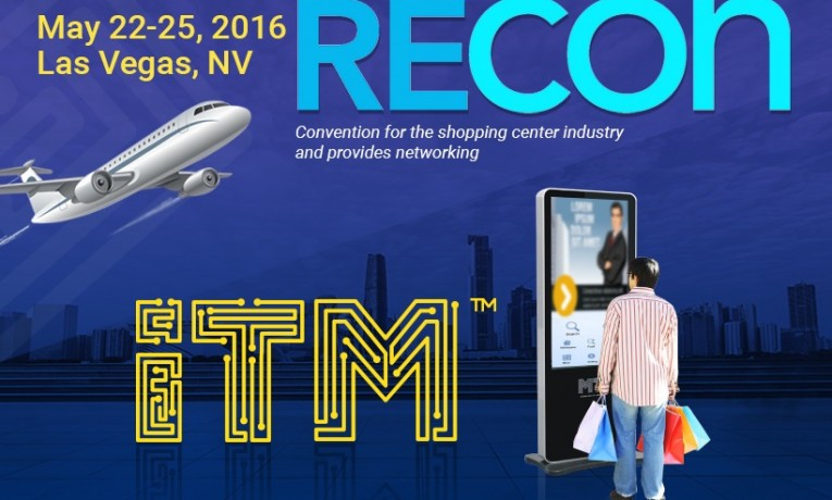 ICSC RECon 2016: ITM Kiosk Representatives are Attending the Can't-Miss Event
