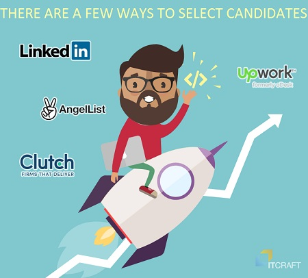 select candidates for startup