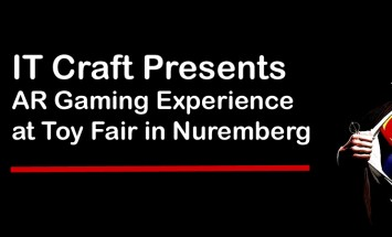 IT Craft Presents AR Gaming Experience At Toy Fair In Nuremberg