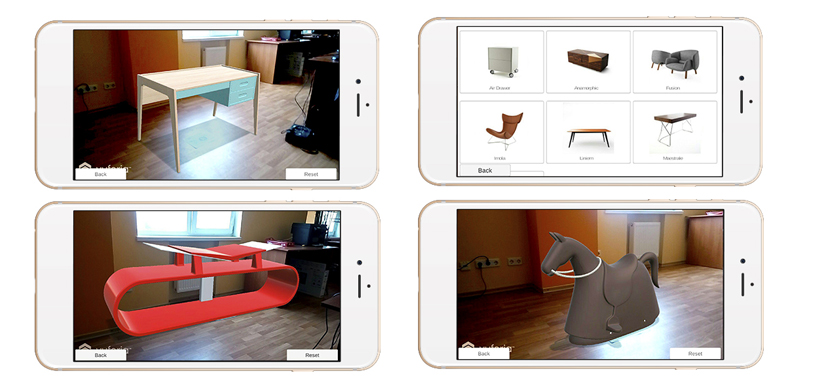 Augmented Reality for furniture
