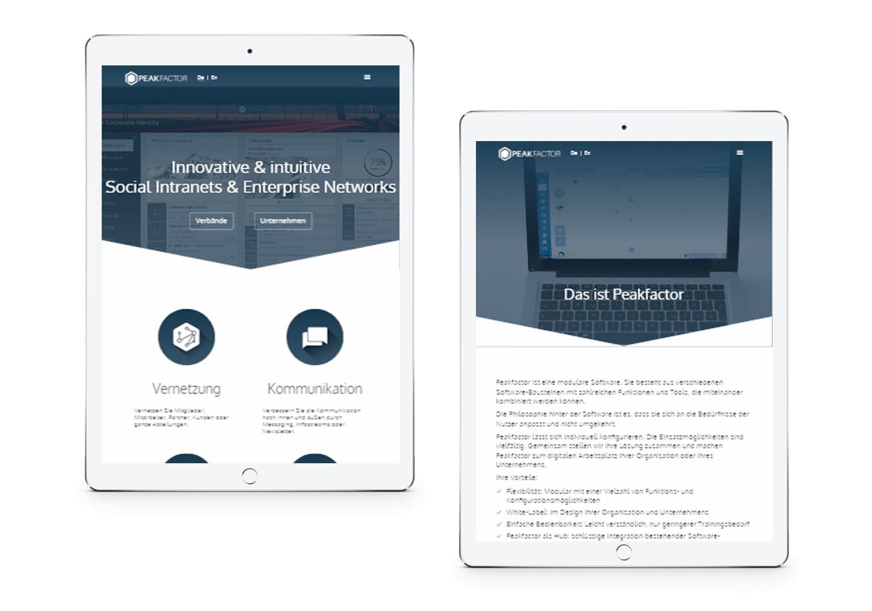 startup Peakfactor