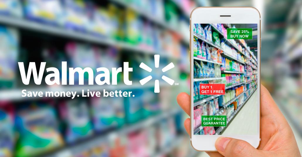Walmart augmented reality