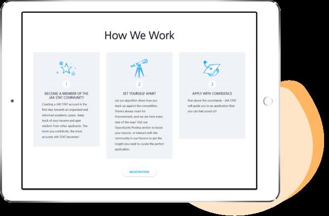Web app Jak Stat