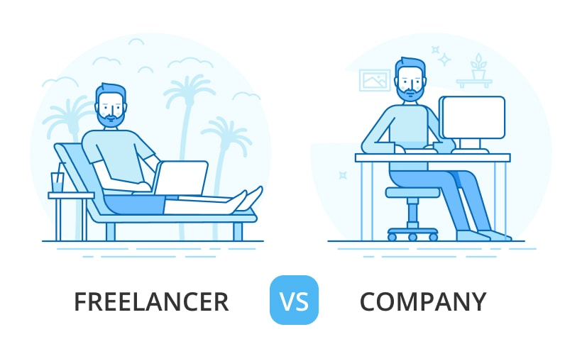 freelancer vs company for MVP