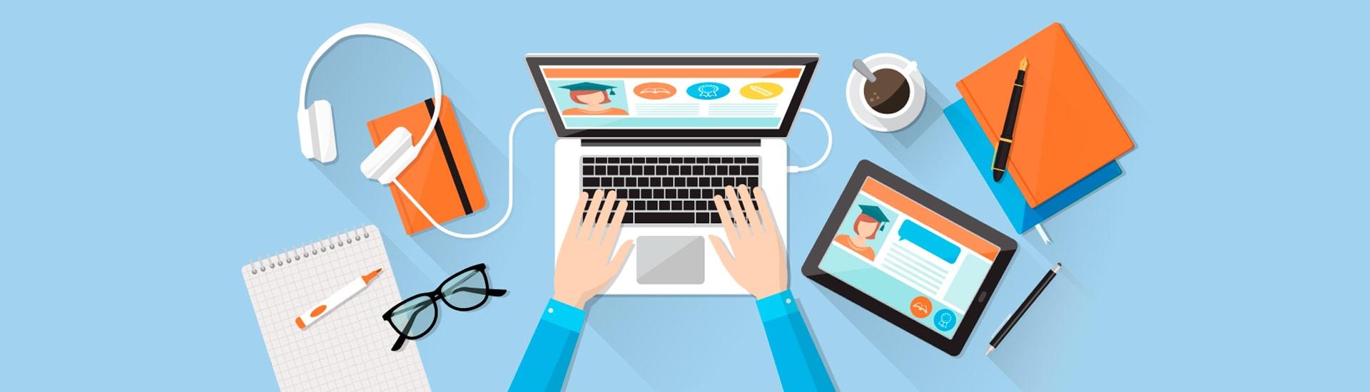 create e learning website