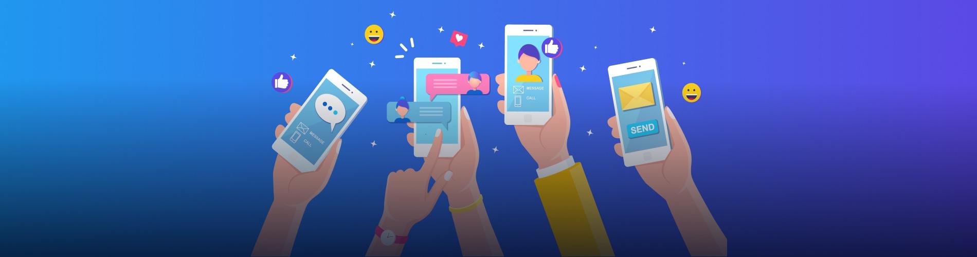create a social media app